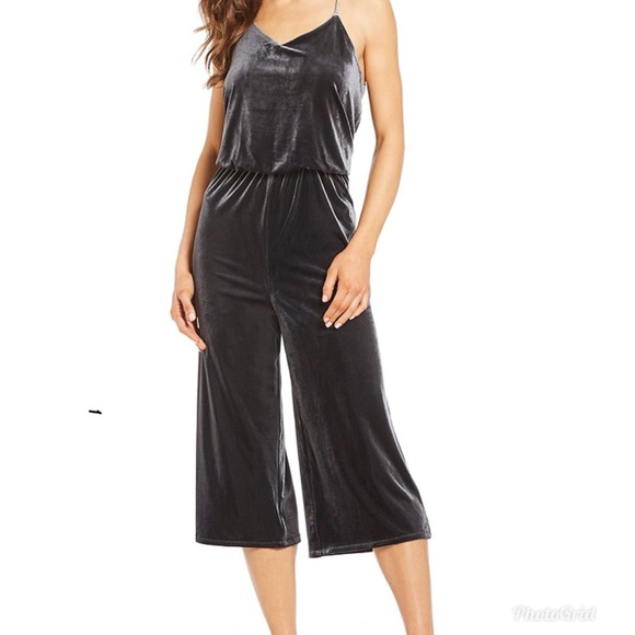 Gb Girls Pants Gb From Dillards Velvet Jumpsuit Poshmark
